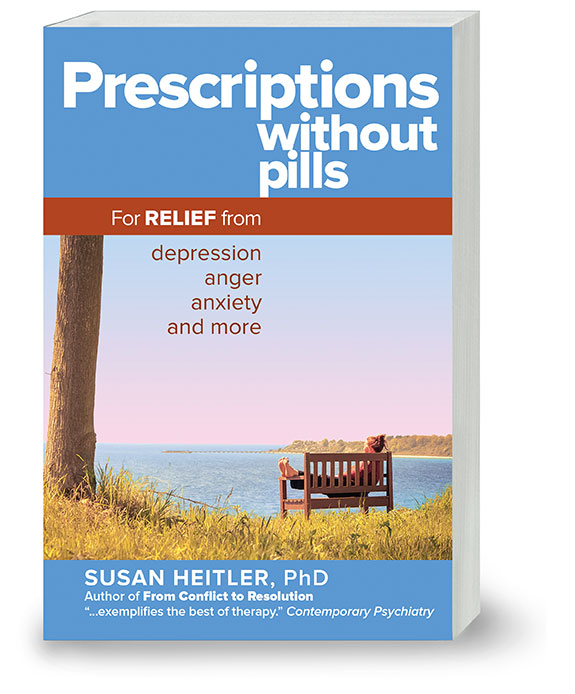 Feel Better By Reading Prescriptions without Pills by Dr. Susan Heitler